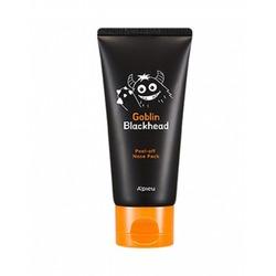 Маска-пленка для носа Goblin Blackhead Peel-Off Nose Pack Apieu