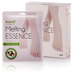 Смягчающая маска-носочки для ног Melting Essence Foot Pack KOELF