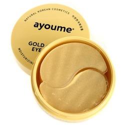Омолаживающие патчи для глаз с золотом и улиточным муцином Ayoume