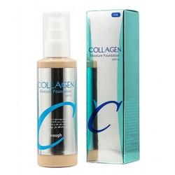 Тональный крем для лица с коллагеном Collagen Moisture Foundation SPF 15 Enough