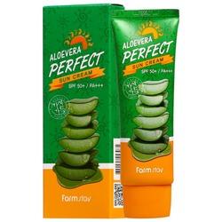 Солнцезащитный крем для лица и тела spf 50+/pa+++ FarmStay