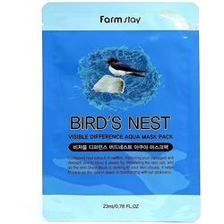 Тканевая маска для лица с экстрактом ласточкиного гнезда FarmStay
