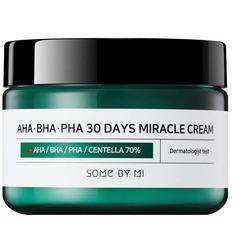 Крем с AHA, BHA, PHA кислотами для проблемной кожи Some By Mi