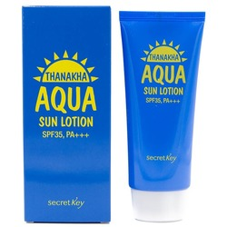 Увлажняющий солнцезащитный лосьон с экстрактом танаки SPF 35 Pa+++ Secret Key