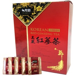 Напиток из красного корейского женьшеня гранулированный Nokchawon