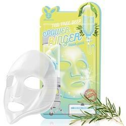 Успокаивающая тканевая маска для лица с экстрактом чайного дерева Elizavecca