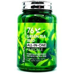 Многофункциональная сыворотка для лица с семенами зеленого чая FarmStay
