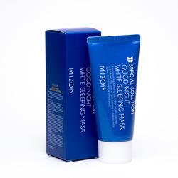 Эффективная ночная маска для лица с осветляющим эффектом Mizon