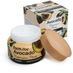 Осветляющий лифтинг-крем с экстрактом авокадо FarmStay