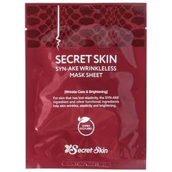 Антивозрастная тканевая маска со змеиным ядом Secret Skin
