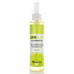 Гидрофильное масло для снятия макияжа с экстрактом лайма Lime Fizzy Cleansing Oil Secret Skin