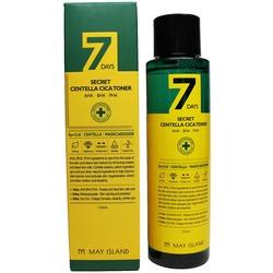 Обновляющий тонер для проблемной кожи с кислотами 7 Days May Island