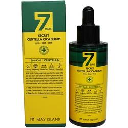 Обновляющая сыворотка для проблемной кожи с АНА ВНА РНА кислотами 7 Days May Island