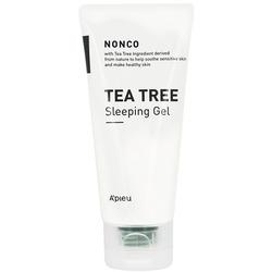 Ночной гель с маслом чайного дерева для проблемной кожи Apieu