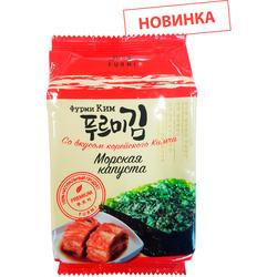 Хрустящая морская капуста со вкусом корейского Кимчи Фурми Ким