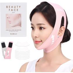 Обновленный набор масок для подтяжки контура лица Rubelli Beauty Face Premium