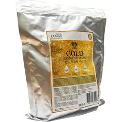 Альгинатная маска для лица с частицами золота Premium Gold Modeling Mask La Miso