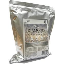Альгинатная маска для лица с алмазной пудрой Premium Diamond Modeling Mask La Miso
