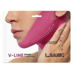 Маска-бандаж для коррекции овала лица V-Line Smart Lifting Mask L'Sanic