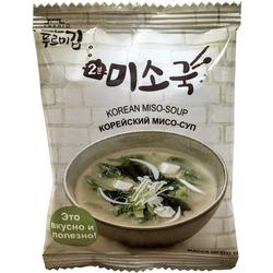 Корейский мисо-суп с морскими водорослями сухой растворимый Фурми Ким