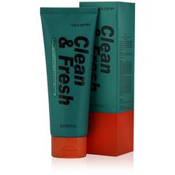 Очищающая пенка для сужения пор Clean & Fresh Pore Tightening Foam Cleanser Eunyul