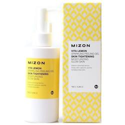 Витаминный пилинг-гель с экстрактом лимона Vita Lemon Sparkling Peeling Gel Mizon
