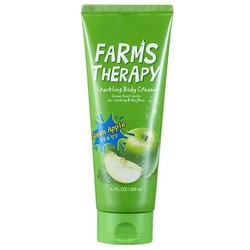 Крем для тела Зеленое яблоко Farms Therapy Sparkling Body Cream Daeng Gi Meo Ri