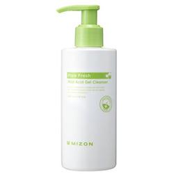 Мягкий очищающий гель для лица Pore Fresh Mild Acid Gel Cleanser Mizon