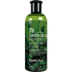 Тонер увлажняющий с семенами зеленого чая Green Tea Seed Premium Moisture Toner FarmStay