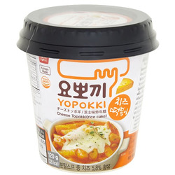 Рисовые палочки с добавлением сырного соуса Токпокки Cheese Yopokki rice cake