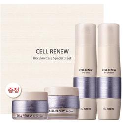 Премиальный набор уходовый антивозрастной Cell Renew Bio Skin Care Special 3 Set The Saem