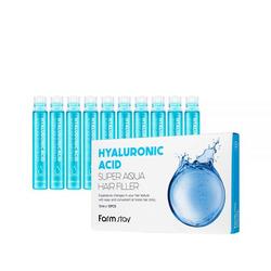 Суперувлажняющий филлер для волос с гиалуроновой кислотой Hyaluronic Acid Super Aqua Hair Filler FarmStay