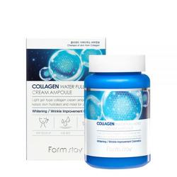 Увлажняющий ампульный крем для лица с коллагеном Collagen Water Full Moist Cream Ampoule FarmStay