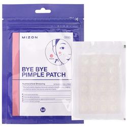 Локальные противовоспалительные наклейки от прыщей Bye Bye Pimple Patch Mizon