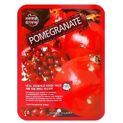 Тканевая маска с гранатом Real Essence Pomegranate Mask Pack May Island