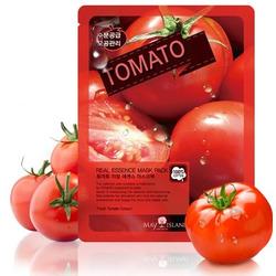 Тканевая маска для лица с экстрактом томата Real Essence Tomato Mask Pack May Island