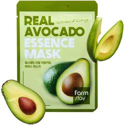 Маска для лица тканевая с экстрактом авокадо Real Avocado Essence Mask FarmStay