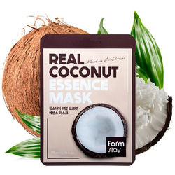 Маска для лица тканевая с экстрактом кокоса Real Coconut Essence Mask FarmStay