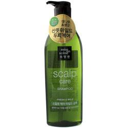 Восстанавливающий шампунь для чувствительной кожи головы Scalp Care Shampoo Mise en scene