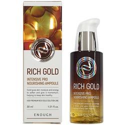 Сыворотка с экстрактом золота Rich Gold Intensive Pro Nourishing Ampoule Enough