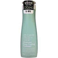Охлаждающий кондиционер для жирной кожи головы Look At Hairl Loss Minticcino Deep Cooling Treatment Daeng Gi Meo Ri