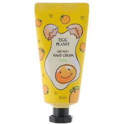 Увлажняющий крем для рук с ароматом цитрусовых Egg Planet Yuja Hand Cream Daeng Gi Meo Ri