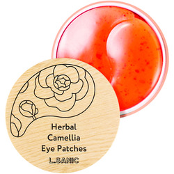 Гидрогелевые патчи с экстрактом камелии Herbal Camellia Hydrogel Eye Patches L'Sanic