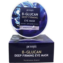 Укрепляющие тканевые патчи под глаза с бета-глюканом B-Glucan Deep Firming Eye Mask Petitfee