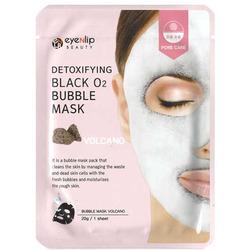 Кислородная маска с вулканической глиной Detoxifying Black O2 Bubble Mask Volcano Eyenlip