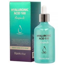 Ампульная сыворотка с гиалуроновой кислотой Hyaluronic Acid 100 Ampoule FarmStay