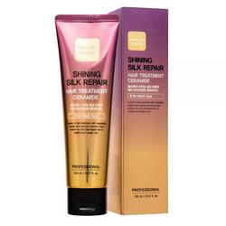 Укрепляющая маска для сияния и блеска волос с керамидами Shining Silk Repair Hair Treatment Ceramide FarmStay