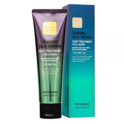 Увлажняющая маска для сияния и блеска волос с коллагеном Shining Silk Repair Hair Treatment Collagen FarmStay