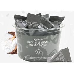 Энзимная пенка для умывания в пирамидках Enjoy Mini Enzyme Foam Cleanser Set Ayoume