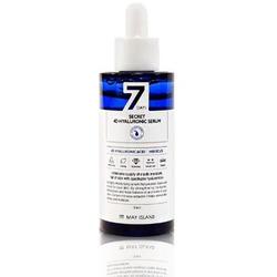 Увлажняющая ампульная сыворотка с 4 видами гиалуроновой кислоты 7 Days Secret 4D Hyaluronic Serum May Island